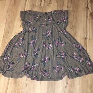 Torrid floral tube dress